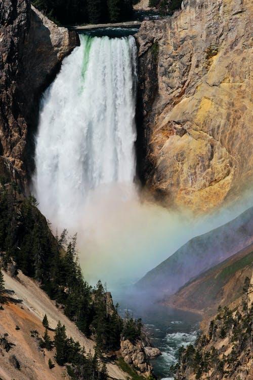 Waterfalls in Yellowstone National Park