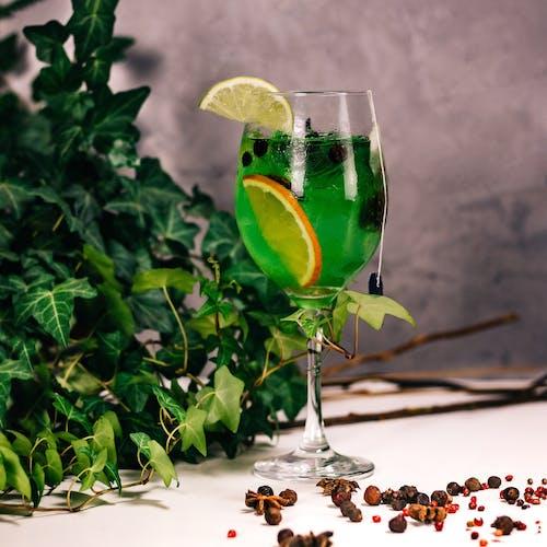 Kostnadsfri bild av alkohol, apelsin, blad