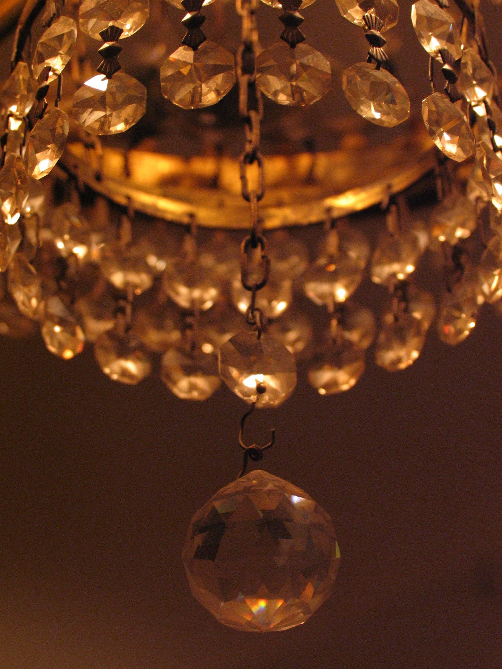 Free stock photo of beautiful, chandelier, closeup, crystal