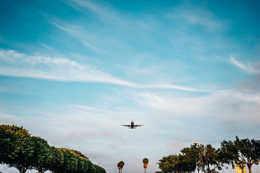 Free stock photo of flying, airplane, plane, landing
