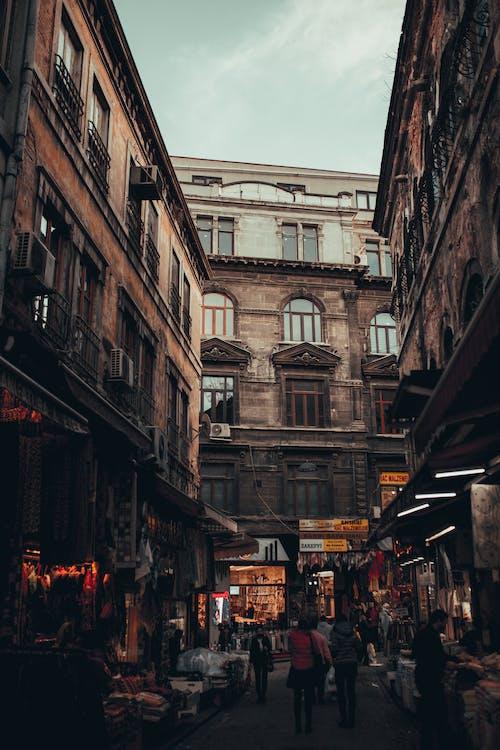 Ingyenes stockfotó árukészlet, bevásárlás, csoport, emberek témában