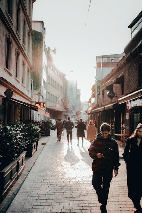 Ingyenes stockfotó bevásárlás, csoport, emberek, építészet témában
