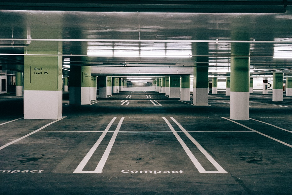 multi-storey car park, parking