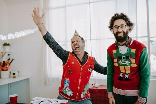 가족, 겨울, 기업 행사, 남자의 무료 스톡 사진