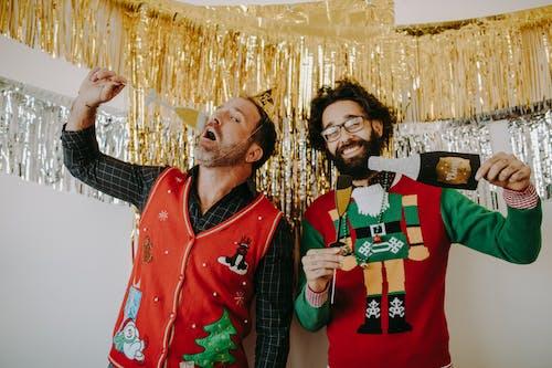 겨울, 기쁨, 기업 행사, 남자의 무료 스톡 사진