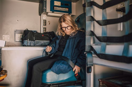 Paramedic Buckling Seat Belt