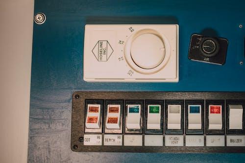 Switches Inside an Ambulance