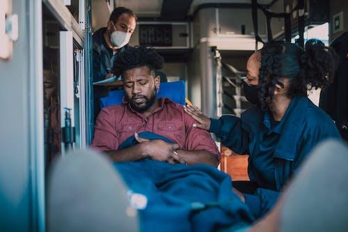 People Inside An Ambulance