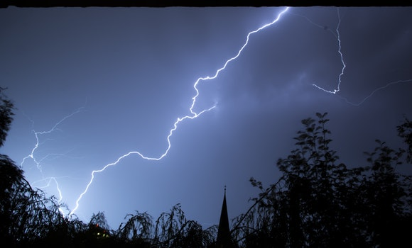Free stock photo of storm, lightning
