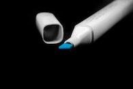 blue, pen, color
