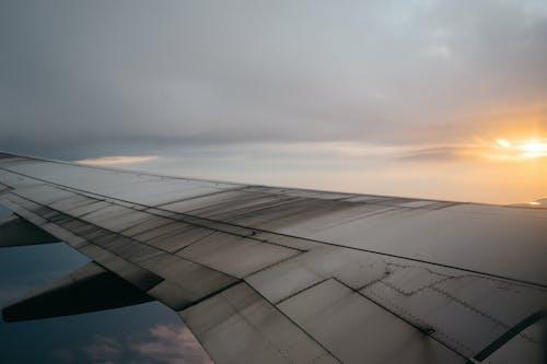 Foto stok gratis bepergian, perjalanan, pesawat, pesawat terbang