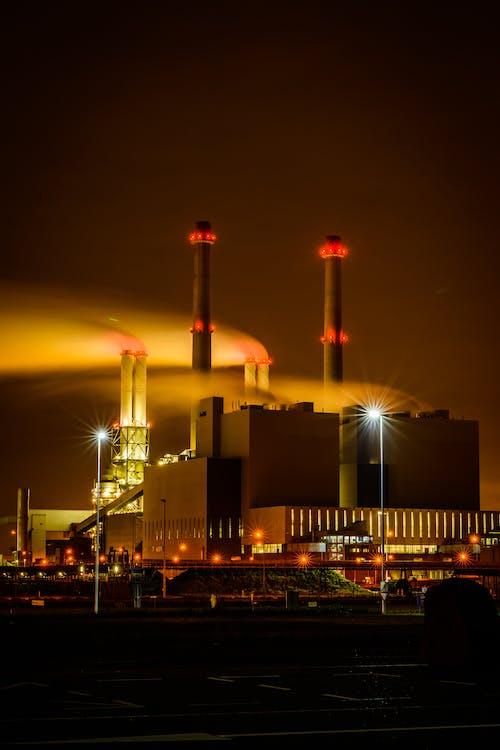 Základová fotografie zdarma na téma elektrárna, energie, fosilní palivo
