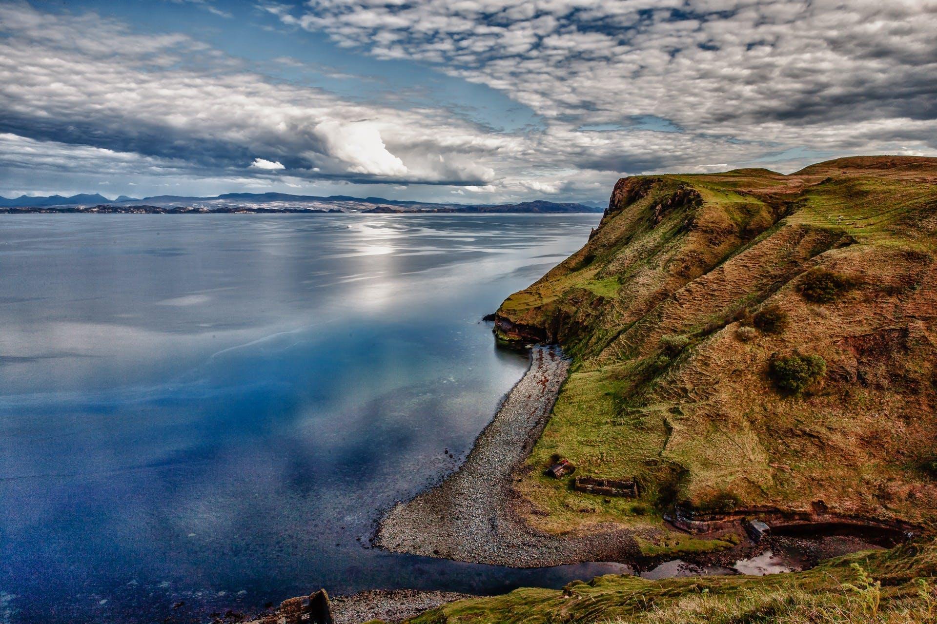 Gratis lagerfoto af hav, havudsigt, himmel, kyst