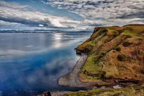 경치가 좋은, 구름, 물, 바다의 무료 스톡 사진