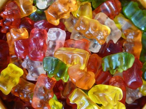 Gratis arkivbilde med fargerik, gele, gummibjørner, gummigodteri