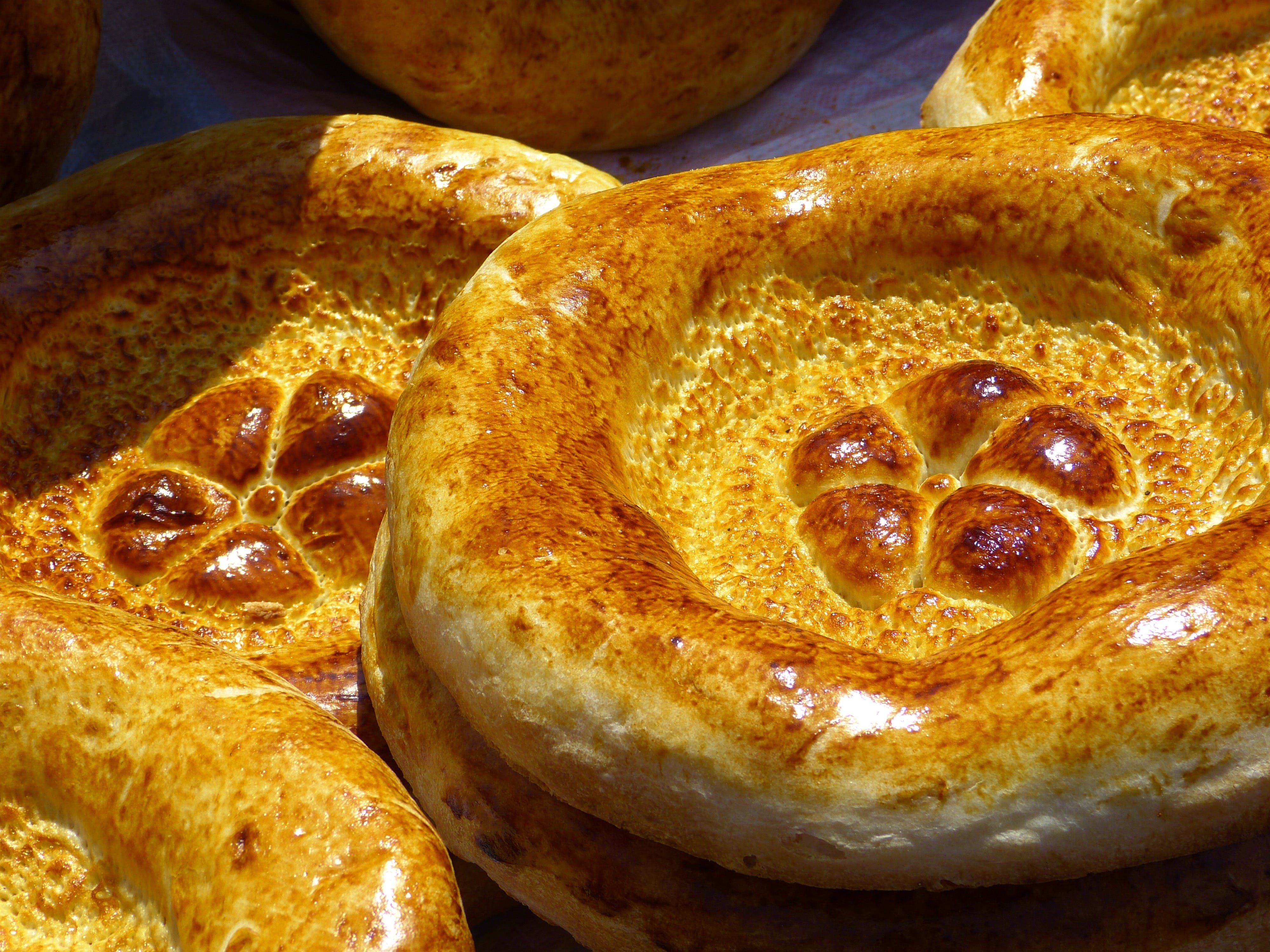 Brown Round Baked Bread
