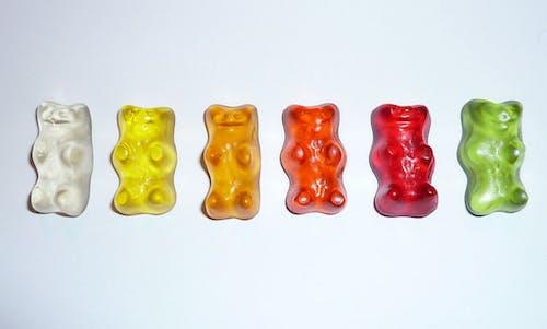 Бесплатное стоковое фото с еда, жевательные мишки, жевательный, конфеты