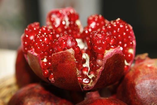 Red Round Fruit