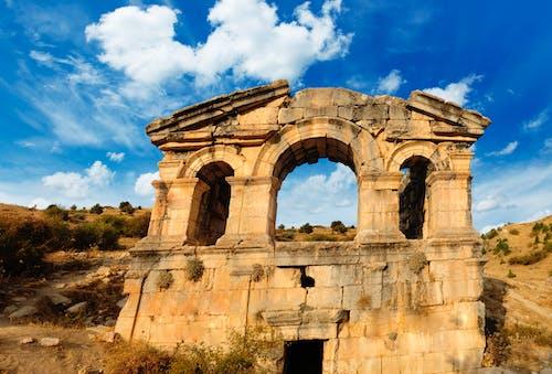 Kostenloses Stock Foto zu antike römische architektur, archaelogy, date