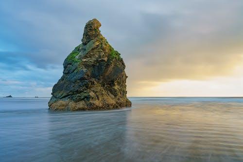 Free stock photo of beach, cliff, dawn