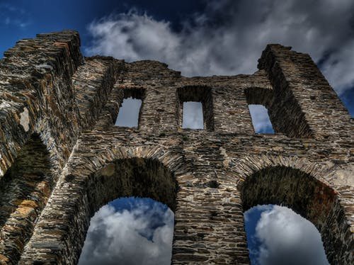 Foto stok gratis awan, bangunan, batu, benteng