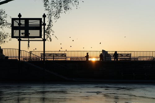 Free stock photo of basket ball, east river, manhattan