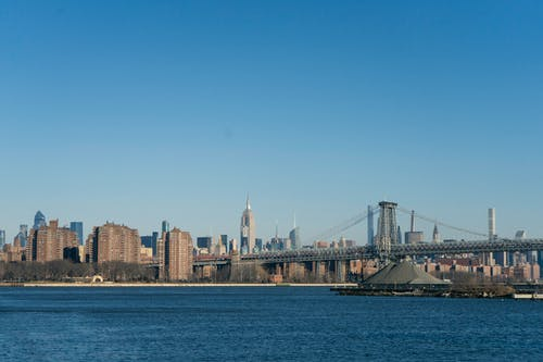 Free stock photo of east river, manhattan, new york