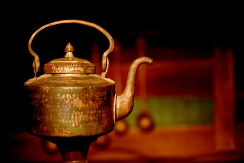 Free stock photo of dark, indian, kettle