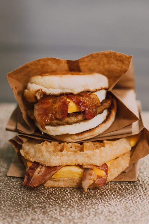 Free stock photo of bacon, bagels, bhfyp