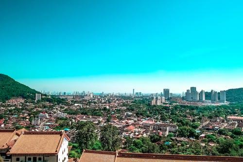 Immagine gratuita di appartamenti, case, cielo, città