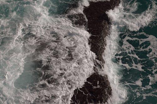 Immagine gratuita di acqua, da sopra, isolotto