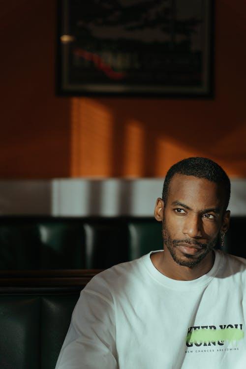 Imagine de stoc gratuită din bărbat afro-american, gândire, gânditor