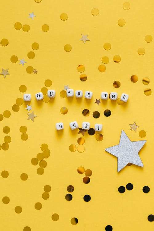 Yellow Star and Star Decors