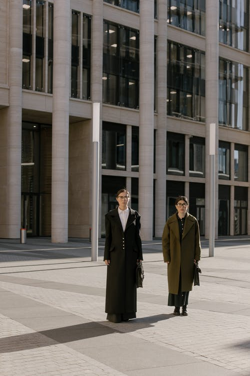 Women Going to Work Carrying Briefcases