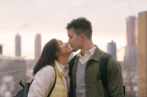 Free stock photo of adult, affection, city