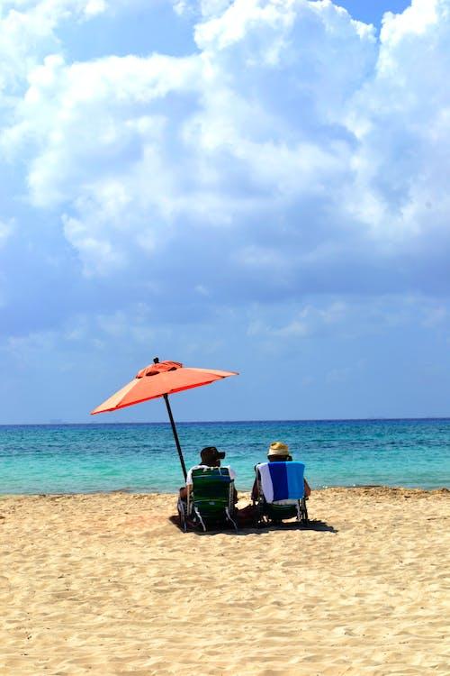 Ingyenes stockfotó homok, kék, nyár, strand témában
