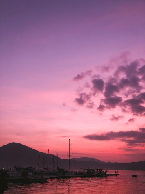 Free stock photo of beach, dawn, dusk