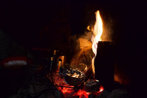 危險, 壁爐, 抽煙, 易燃的 的 免费素材图片