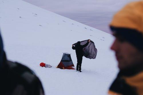 人, 冒險, 冬季, 冰 的 免费素材图片