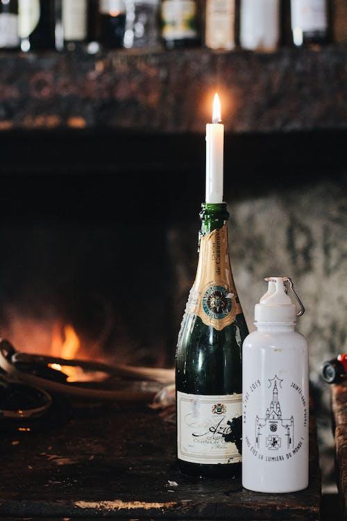 Photos gratuites de boire, bougie, bougies, bouteille