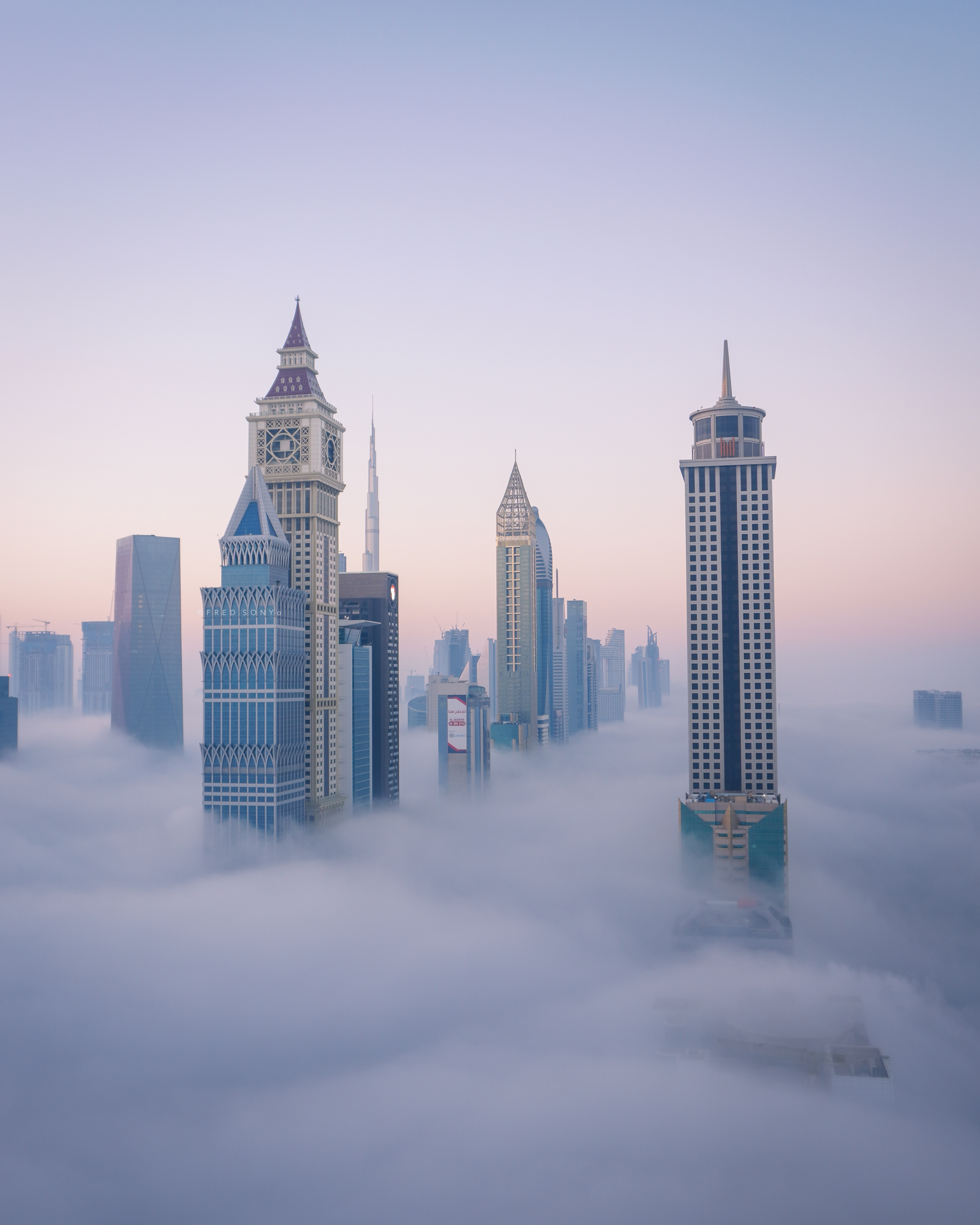 city sunset skyline building