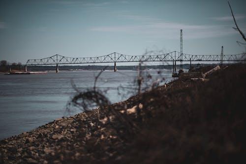 Free stock photo of bridge, bridge in distance, river, water