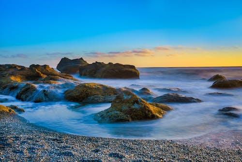 Free stock photo of bay, beach, dawn