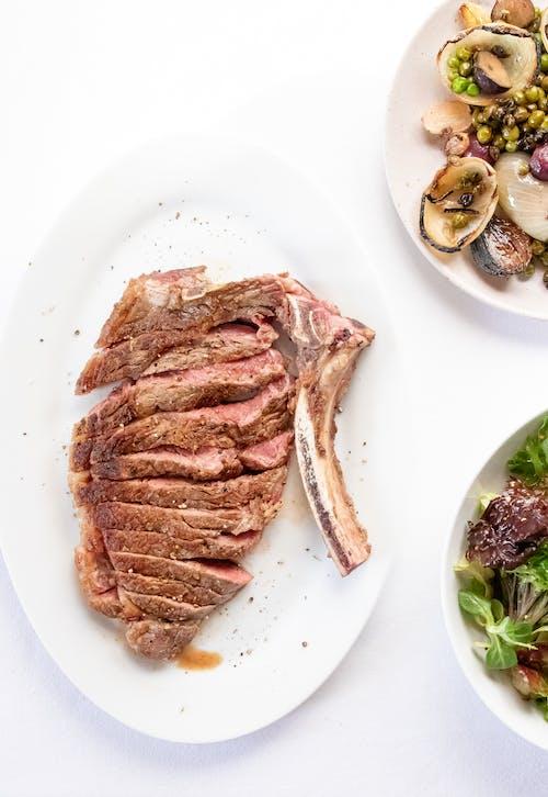 Immagine gratuita di appetitoso, bistecca, cappelliera