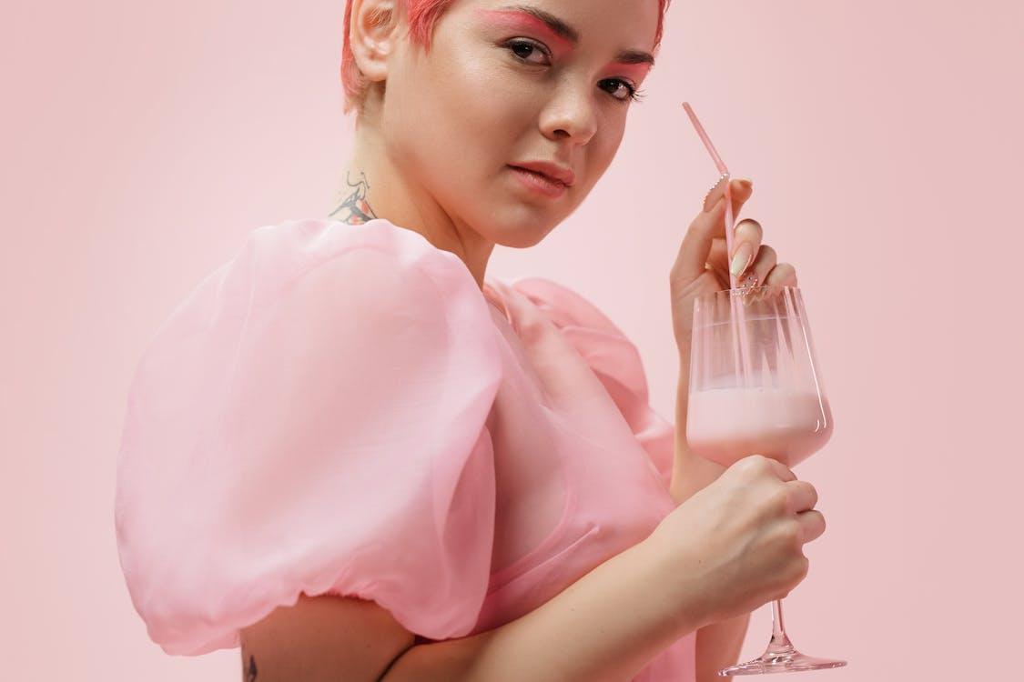 Free stock photo of beautiful, beverage, cheerful