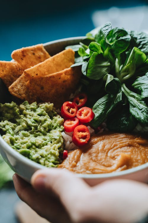 Free stock photo of appetizer, avocado sauce, bowl
