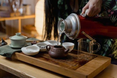 Immagine gratuita di cerimonia del tè, sala da tè, scrosciante