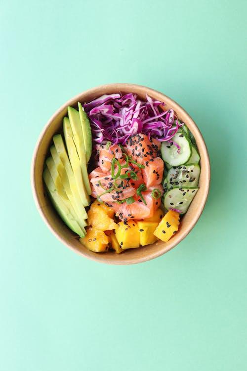 健康的早餐, 健康食品, 果盤 的 免費圖庫相片