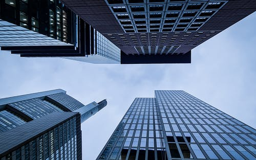 Low Angle Photography of Skyscrapers
