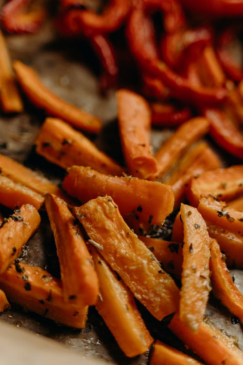 Baked Carrots in Spices